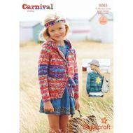 Stylecraft Leaflet 9083 Carnival Chunky Cardigan