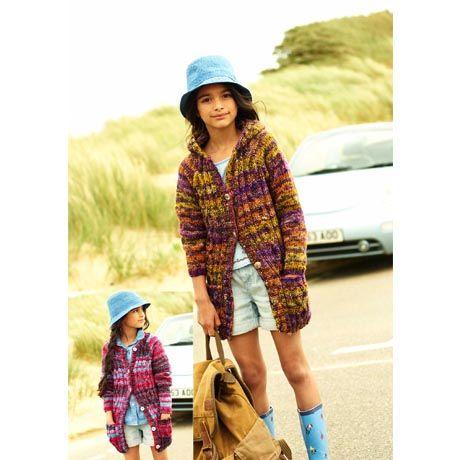 Stylecraft Leaflet 9189 Girls Chunky Jacket