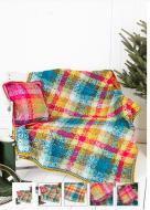 Stylecraft Leaflet 9255 Crochet Throw