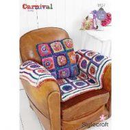 Stylecraft Leaflet 9157 Crochet Throw