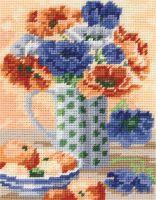 Anchor Anemones Tapestry Starter Kit.