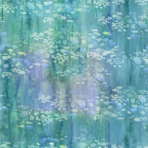 McKenna Ryan Painted Forest Blue Green Daisy