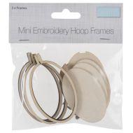 Trimits Mini Embroidery Hoop Frames Oval X3