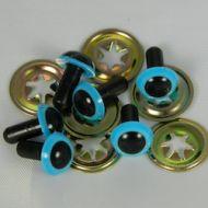 Toymaking Eyes  Blue 12mm