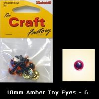 Eyes Amber 10mm