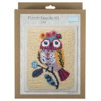 Trimits Owl Punch Needle Kit
