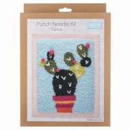 Trimits Cactus Punch Needle Kit