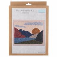 Trimits Landscape Punch Needle Kit