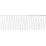 Herringbone Tape 20mm White