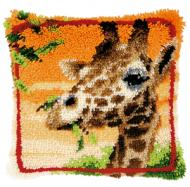 Vervaco  Giraffe Latch  Hook  Cushion Kit