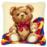 Vervaco  Teddy Latch  Hook  Cushion Kit
