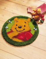 Latch Hook Kit: Circular Rug: Disney Winnie The Pooh