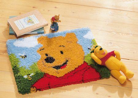 Latch Hook Kit: Rug: Disney: Winnie The Pooh