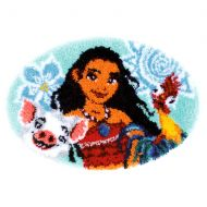 Latch Hook Kit: Shaped Rug: Disney: Moana