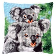 Cross Stitch Kit - Cushion - Koala With Baby