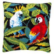 Cross Stitch Kit - Cushion - Tropical Birds