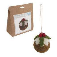 Felting Kit - Christmas Pudding