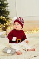 Knitting Pattern - Santa Toy, Hat & Sweater - 9870
